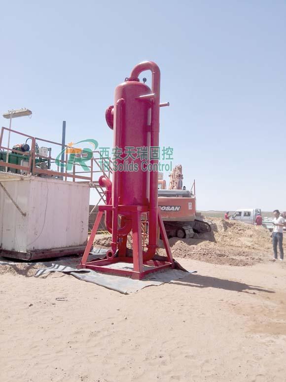 Mud gas separator, drilling liquid gas separator, TR separation equipment, liquid gas separator supplier