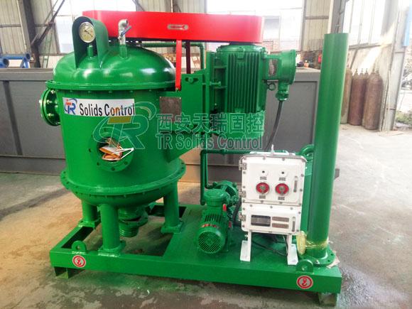 Vacuum degasser for oil & gas drilling, HDD vacuum degasser, top quality vacuum degasser