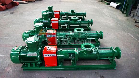 Professional screw pump manufacturer, top quality screw pump, drilling fluids screw pump