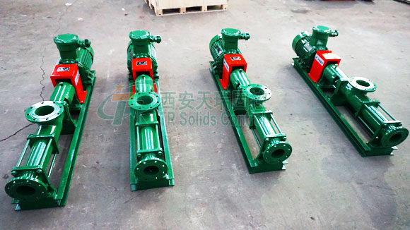 Screw pump for oil and gas drilling, API certified screw pump, single screw pump manufacturer