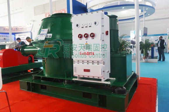 Drilling fluids vertical cutting dryer, solids control dryer