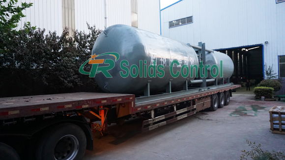 Ash tank for oil and gas drilling, China ash tank manufacturer, drilling ash tank