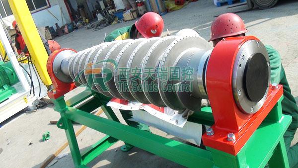 HDD mud centrifuge for sale, good performance decanter centrifuge