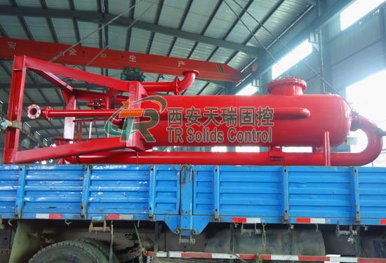 Good price mud gas separator, high efficiency mud gas separator