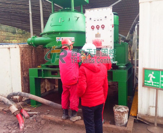 Vertical cutting dryer for oil and gas drilling, large capacity vertical cutting dryer